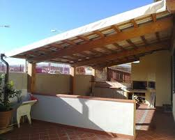 tettoia in legno per terrazzo coperture in legno per terrazzi pergole e tettoie da giardino