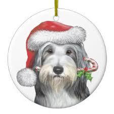 bearded collie ornaments keepsake ornaments zazzle