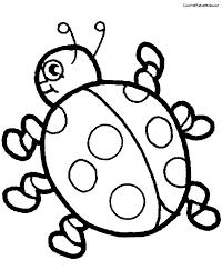ladybug outline free download clip art free clip art on