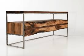 entertainment centers with glass doors furniture interesting reclaimed wood tv stand for home furniture