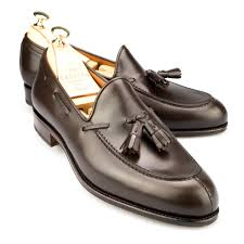 tassel brown calf dress loafers carmina shoemaker