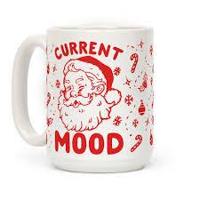 current mood christmas mugs human