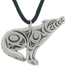 silver wolf pendant necklace images Howling wolf pendant pewter david morgan jpg