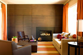 Contemporary Gas Fireplace Insert by Modern Gas Fireplace Living Room Contemporary With Accent Wall