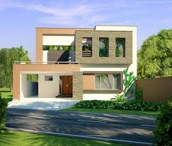 Beautiful Latest Front Elevation Of Home Designs Contemporary Home Design 3d