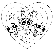 Free Printable Powerpuff Girls Coloring Pages For Kids Power Puff Coloring Page