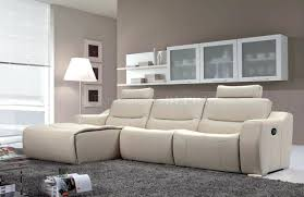 microfiber sectional sofa with recliner and chaise reclining drink
