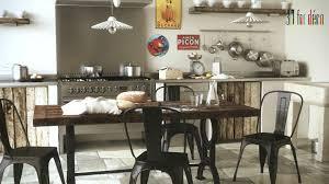 decoration industrielle vintage cuisine au look industriel les bons ingrédients u2022 deco trendy