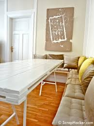 furniture long narrow dining table reclaimed wood dining table