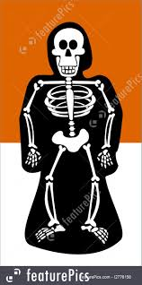 black and orange halloween background halloween background skeleton dressed in black