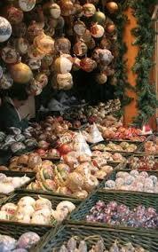 vienna austria travel suitcase polish mouth blown glass christmas