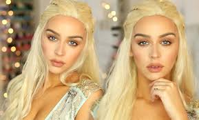 Mother Nature Makeup For Halloween by Daenerys Khaleesi Game Of Thrones Makeup Tutorial Youtube