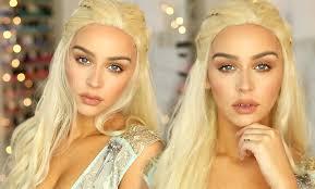 Game Thrones Halloween Costumes Khaleesi Daenerys Khaleesi Game Thrones Makeup Tutorial