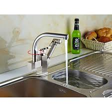 tap kitchen faucet copper silver multifunction basin cold water tap kitchen