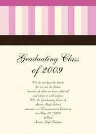 graduation invite wording samples custom invitations