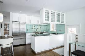 kitchen decor ideas for small kitchens best small kitchens with modern green subway tile backsplash design