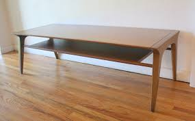 modern low profile coffee tables coffee table picked vintage