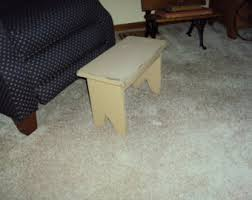 wood foot stool etsy