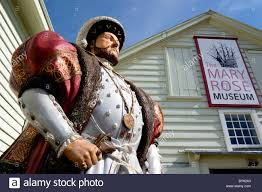 Tudor King England Hampshire Portsmouth Historic Naval Dockyard Statue Of