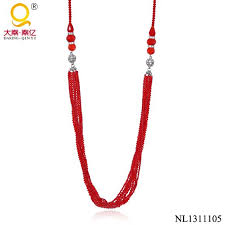 indian bead jewelry necklace images Latest design red indian beads necklace jewellery cheap indian jpg