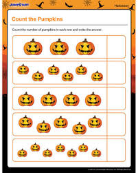 count the pumpkins u2013 free halloween math printable for kids