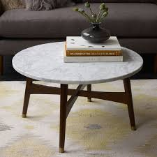 round mid century modern coffee table attraktiv coffee table incredible modern marble top white solid