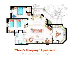home floorplan 10 of our favorite tv shows home apartment floor plans design