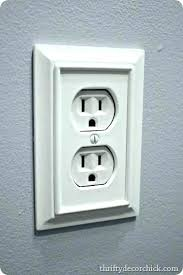 night light outlet cover night light switch plate outlet wall plate led night light night