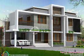 simple type of contemporary home in 2558 sq ft kerala home