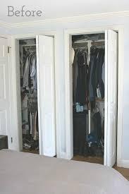 Bi Folding Closet Doors Brilliant Ideas How To Replace Closet Doors Replacing Bi Fold With