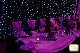 wedding backdrop themes starry wedding theme yes purple is still possible with a