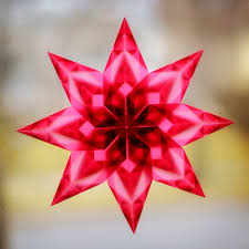 Window Star Tutorial 01 Christmas Natale Pinterest Window