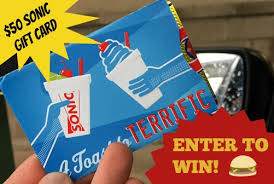 sonic gift cards sonic drive in we tried the new fiery cheeseburger enter to win