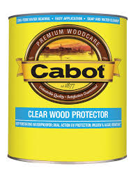 Longest Lasting Cedar Deck Stain by Clear Wood Protector Cabot
