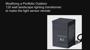 Portfolio Low Voltage Landscape Lighting Portolio 120 Watt Low Voltage Landscape Lighting Transformer