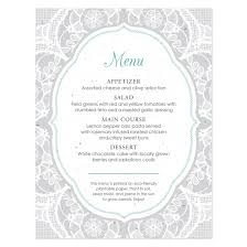 wedding menu cards menu cards for wedding lace seed menu card plantable seed