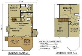 lake house log cabin floor plans homepeek