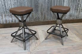 Bar Stool With Backrest Traditional Industrial Style Bar Stools Of Steel Bar Stool With