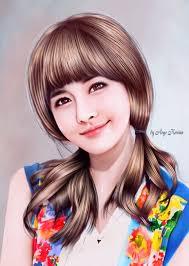 tutorial smudge painting indonesia boram tora smudge paint pinterest cartoon images art girl and