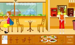 jeux de cuisine serveuse 100 images jeu de serveuse dans un bar