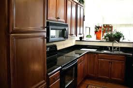 kitchen cabinets restaining best kitchen cabinets black appliances