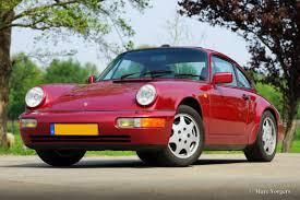 1990 porsche 911 blue 911 carrera 2 u0026 4