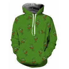Meme Hoodie - all over print pepe meme hoodie kurwix com
