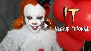 it u0027pennywise u0027 halloween makeup tutorial