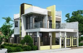 two storey house design 50 images of 15 two storey modern houses with floor plans and