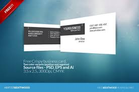 Business Card For Construction Company 50 Best Free Psd Business Card Templates