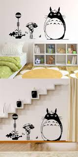pegatinas pared 25 pinterest visit to buy japan style graphic vinyl wall sticker of totoro cat for kids