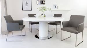 Circular Dining Room Table Dining Tables Inspiring Gray Round Dining Table Gray Round