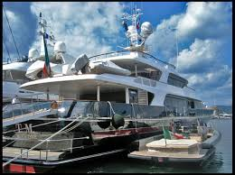 the super yachts of super rich fashion moguls racked