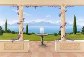 trompe l oeil bella vista wall mural 108 bella vista 108
